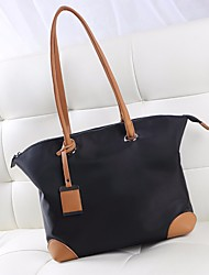 cheap -Women Bags Nylon Tote Zipper for Casual All Seasons Black Gray Brown