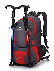 40 L Ciclismo Backpack Zainetti Escursionismo Scalate Campeggio Indossabile Nylon 丰途