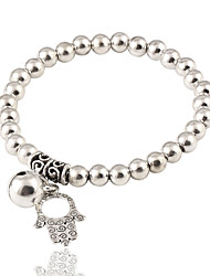 cheap -Women's Strand Bracelet - Fashion, Elegant Bracelet Silver Hamsa Hand For Birthday Gift