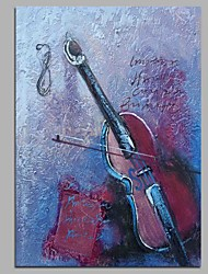 Hand-Painted Music Vertical,Modern/Comtemporary Artistic Classic Birthday Special Modern/Contemporary Office/Business Cool Christmas New