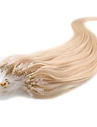 abordables -Extensions de Cheveux à Micro Anneaux Extensions de cheveux humains Haute qualité Classique Femme Quotidien