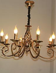 Недорогие -Ретро Люстры и лампы Назначение Гостиная Спальня Столовая AC 220-240 AC 110-120V Лампочки не включены Белый