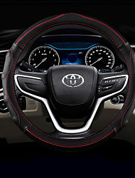 cheap -Automotive Steering Wheel Covers(Leather)For Toyota All years RAV4 Highlander Corolla Mark X Camry Reiz Levin
