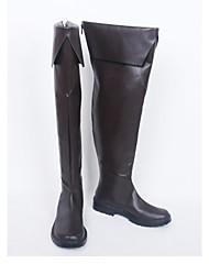 Cosplay Schuhe Cosplay Stiefel Cosplay Cosplay Anime Cosplay Schuhe PU - Leder/Polyurethan Leder Kunstleder PU Leder Unisex