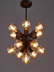 cheap -Retro/Vintage Globe Chandelier For Bedroom Dining Room Shops/Cafes AC 110-120 AC 220-240V Bulb not included