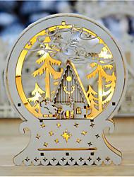 abordables -Navidad Regalos de Navidad PCB + LED Decoraciones de la boda