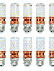 10pçs 12W E27 Lâmpadas Espiga T 60 leds SMD 2835 Branco Quente Branco Cor da fonte de luz dupla 1000lm 3000-3500  6000-6500  3000-6500K