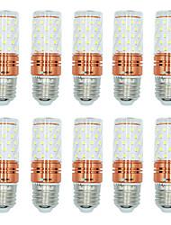 preiswerte -10 Stück 12W E27 LED Mais-Birnen T 60 Leds SMD 2835 Warmes Weiß Weiß Dual Light Source Farbe 1000lm 3000-3500  6000-6500  3000-6500K AC