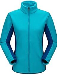 Homme Femme Veste Polaire de Randonnée Extérieur Hiver Garder au chaud Toison Hiver Anorak fleece / Polaires Zip totalement visible