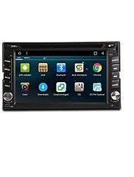 cheap -Android 6.0 6.2-inch  Car DVD Player with Quad-Core Contex A9 1.6GHz Radio WIFI 4G GPS RDS
