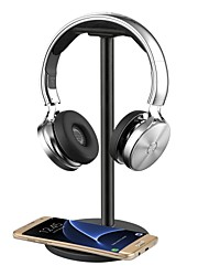 abordables -casque casque / support / support / support avec qi recharge sans fil pour samsung galaxy s7 / s7 bords6 / s6 edgenote 5 nexus 7/5/4 nokia