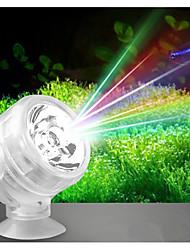 Недорогие -Аквариумы LED подсветка Белый / Красный / Синий Светодиодная лампа 220 V V пластик