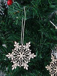 Недорогие -10шт рождественская елка висит дерево цвет снежинка украшения украшения рождественские праздничные дни домашний декор