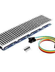 abordables -le module de matrice de points max7219 4 est affiché