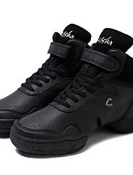 abordables -Femme Baskets de Danse Cuir Deli-pointes De plein air Talon Personnalisé Personnalisables Chaussures de danse Noir