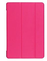 abordables -Funda Para Asus Funda de Cuerpo Entero / Casos Tablet Un Color Dura Cuero de PU para ASUS ZenPad S 8.0 Z580C / ASUS ZenPad 8.0 Z380M