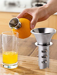 cheap -Lemon Squeezer Juicer Pourer Screw Limes Oranges Drizzle Fresh Citrus Juice Kitchen Accessories