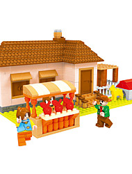 Building Blocks Toys House Garden Theme Fairytale Theme Houses Kids Boys 293 Pieces