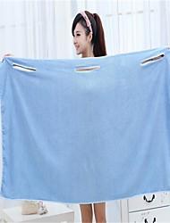 Style frais Serviette de bain,Solide Qualité supérieure 100% Microfibre Etoffe plaine Serviette