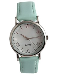 cheap -Women's Fashion Watch Wrist watch Japanese Quartz PU Band Green
