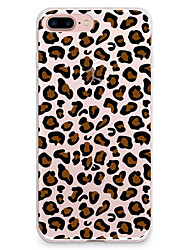 cheap -Case For Apple iPhone X iPhone 8 iPhone 8 Plus Ultra-thin Pattern Back Cover Leopard Print Soft TPU for iPhone X iPhone 8 Plus iPhone 8