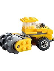 cheap -Building Blocks Model Building Kit Motor Grader Toys Excavating Machinery Soft Plastic 1 Pieces Children's Gift