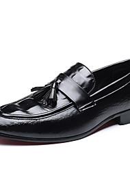 preiswerte -Herrn Formal Schuhe PU Frühling / Sommer Loafers & Slip-Ons 3D Schwarz / Gelb / Rot