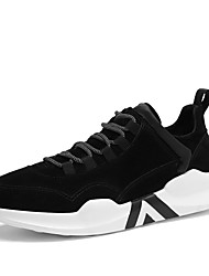 cheap -Men's Shoes Suede Fall Winter Comfort Light Soles Sneakers Lace-up For Athletic Casual Camel Gray Black