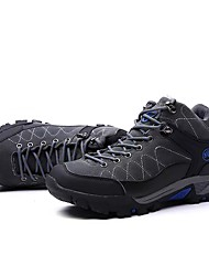cheap -Men's Shoes PU Spring Fall Light Soles Athletic Shoes Hiking Shoes Lace-up For Athletic Black Gray Army Green Blue