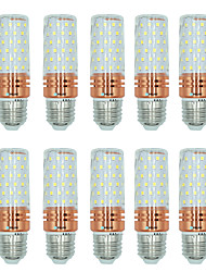 10pcs 16W E27 LED Corn Lights T 84 leds SMD 2835 Warm White White Dual Light Source Color 1300lm 3000-3500  6000-6500  3000-6500K AC