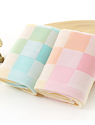 Fresh Style Hand Towel,Checkered Superior Quality 100% Cotton Towel