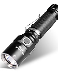 cheap -KLARUS ST15 LED Flashlights / Torch LED 1100 lm Manual Mode Cree CREE XP-L HI V3 Zoomable Professional Waterproof Easy Carrying Wearproof