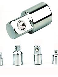 4pcs Hülse Adapter Reduzierstück Steckschlüssel Koppler - Silber