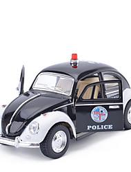 Недорогие -Машинки с инерционным механизмом Полицейская машинка Автомобиль Универсальные Игрушки Подарок / Металл