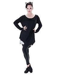 Latinské tance Šaty Dámské Taneční vystoupení Modal Dlouhé rukávy Šaty