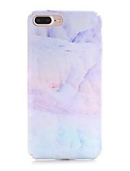 economico -Custodia Per Apple iPhone X iPhone 8 Effetto ghiaccio Fantasia/disegno Custodia posteriore Effetto marmo Resistente PC per iPhone X