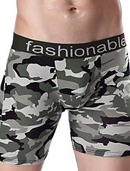economico -Per uomo Sotto pantaloni,Sexy Sportivo Monocolore,Cotone