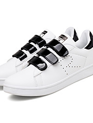 cheap -Men's Shoes Leatherette Fall / Winter Comfort Sneakers White / Silver / White / Green / White / Yellow