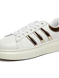 economico -Da uomo Scarpe Gomma Primavera Autunno Comoda Sneakers Lacci Per Bianco Bianco/nero White/Blue