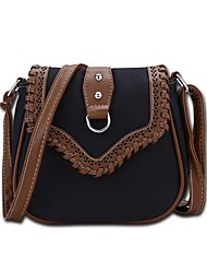 cheap -Women's Bags Polyester Crossbody Bag Zipper for Shopping Casual All Seasons Yellow Light Green Brown Dark Brown Khaki
