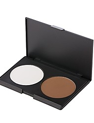 2 Concealer/Contour Matte Pressed powder Natural Face Daily