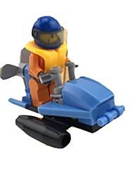 Blocs de Construction Voiture de Course Jouets Automatique 1 Pièces