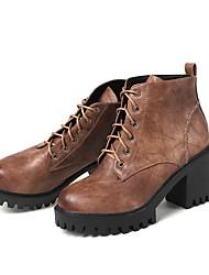 Недорогие -Для женщин Обувь Материал на заказ клиента Зима Модная обувь Армейские ботинки Светодиодные подошвы Оригинальная обувь С ремешком на