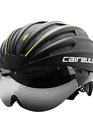 CAIRBULL Adults' Bike Helmet CE EN 1077 Certification Cycling 28 Vents Visor Full-Face Adults' PC EPS Road Cycling