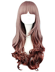 cheap -Lolita Wigs Sweet Lolita Brown Lolita Lolita Wig 60 CM Cosplay Wigs Solid Wig For