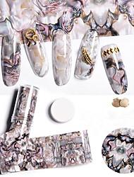abordables -1 pcs Forme Géometrique Autocollant pour ongles Nail Art Design