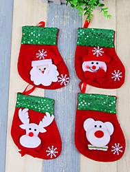abordables -1pc Animales Naturaleza muerta Muñecos de Nieve Santa Copo Inspirador Día Festivo Palabras y Frases Other Vacaciones, Decoraciones de