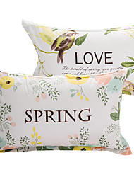 Floral 100% Cotton Pillowcase
