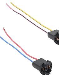 2x t10 168 194 501 w5 w voiture conduit smd lumière faisceau harnais connecteur extension
