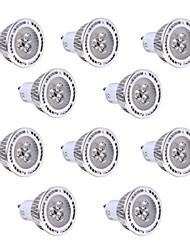 economico -YWXLIGHT® 10 pezzi 3W 200-300 lm GU10 Faretti LED 3 leds SMD 3030 Bianco caldo Luce fredda AC85-265